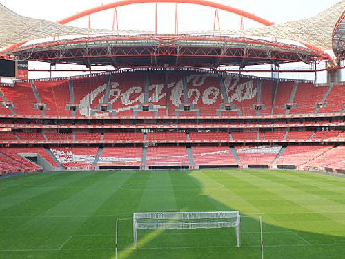 Im Estádio da Luz wird am 24. Mai 2014 das Finale der Champions League ausgetragen. Sonst trägt hier SL Benfica seine Heimspiele aus. (Foto: spe)