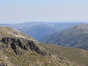 Panoramablick über die Serra da Estrela. (Foto: spe)