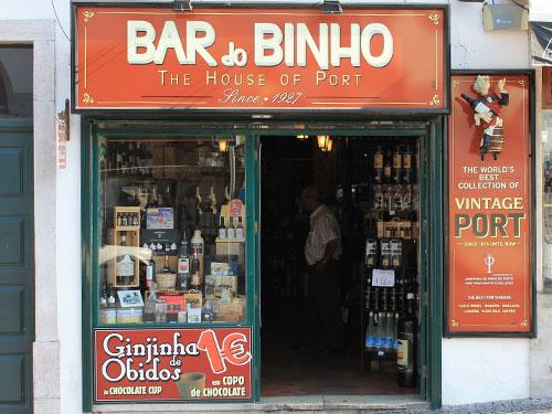 Portwein-Laden in Sintra. (Foto: spe)