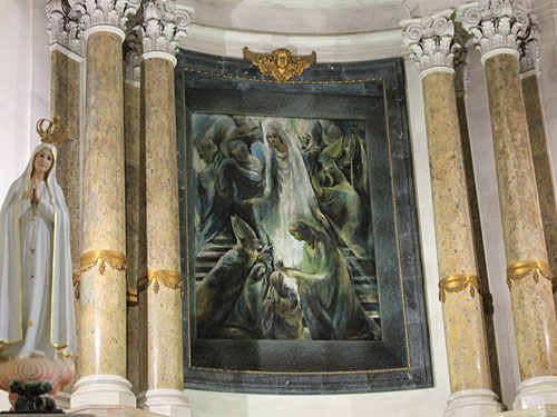 Altarraum der Basilica Antiga. (Foto: Sören Peters)