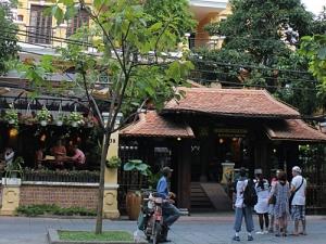 Das Quan An Ngon ist im VErgleich zu den übrigen Restaurants zwar etwas teurer, im Vergleich zu Europa jedoch immer noch spottgünstig. (Foto: Sören Peters)