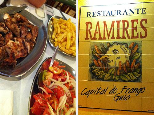 """Das Frango a Piri-Piri ist eines der portugiesischen Nationalgerichte. """"Hauptstadt"""" des scharfen Hähnchens ist das Algarve-Städtchen Guia. (Fotos: Sören Peters)"""
