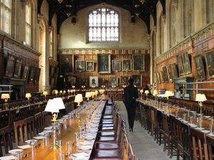 Die Hall des Christ Church College war Vorbild für den Essenssaal in Hogwarts. (Foto: Sören Peters)