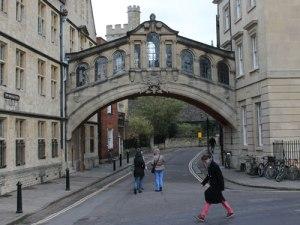 Die Seufzerbrücke verbindet zwei Gebäudetrakte des Hertford College. (Foto: Sören Peters)