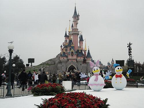 Mädchentraum: Das Disneyschloss. (Foto: Sören Peters)