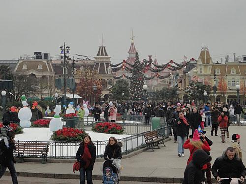 Zentraler Tummelplatz, vom Schloss aus gesehen. (Foto: Sören Peters)