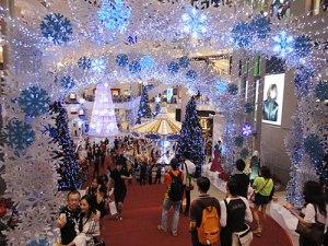 Im Pavilion: Ein Tunnel aus Einkristallen führt zum... (Foto: Sören Peters)
