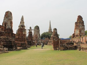Im Wat Mahathat. (Foto: Sören Peters)