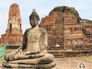 Buddhafigur im Wat Mahathat. (Foto: Sören Peters)