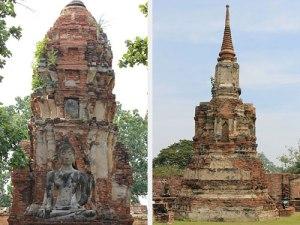 """Der Wat Mahathat heißt so viel wie """"Tempel der großen und heiligen Reliqie"""" und stammt aus dem 17. Jahrhundert. (Foto: Sören Peters)"""