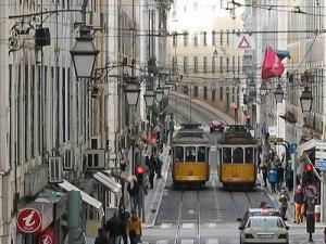 Rua da Conceição in Lissabon. (Foto: Sören Peters)