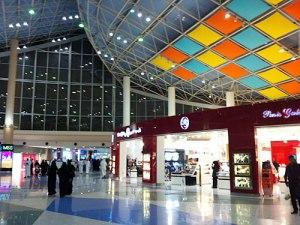 Die Manar Mall war von den besuchten Einkaufszentren die beste. (Foto: Sören Peters)