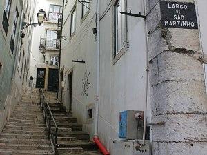 Treppensteigen gehört in Lissabon zum Alltag. (Foto: Sören Peters)