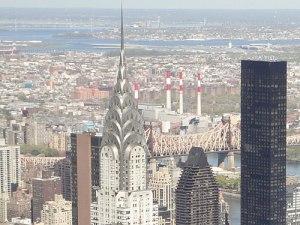 Markant: Das Chrysler Building im Art-Déco-Stil. (Foto: Sören Peters)