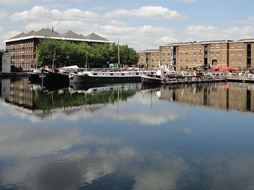 In unmittelbarer Nachbarschaft befindet sich Museum of Docklands - zweifelsohne eines der kleineren Museen in London - in dem sich aber der stetige Wandel an der Themse gut nachvollziehen lässt. (Foto: Sören Peters)