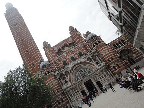 Vorsicht, nicht verwechseln mit der Westminster Cathedral, der domkirche des römisch-katholischen Erzbistums Westminster. (Foto: Sören Peters)