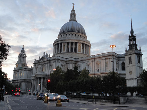 Auch St. Paul's Cathedral befindet sich im historischen Stadtkern. (Foto: Sören Peters)