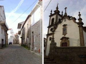 Steinhäuser und Kirche im Ortskern. (Fotos: Sören Peters)