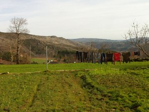 Blick auf die Berge der Serra da Estrela. (Foto: Sören Peters)
