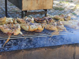Taste of Portugal: Hähnchen auf dem Grill. (Foto: Sören Peters)