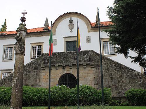 Rathaus (Câmara Municipal) von Ponte de Lima. (Foto: Sören Peters)