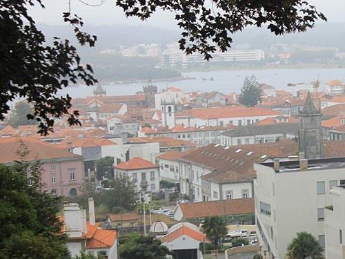 Immerhin hatten wir während der Seilbahnfahrt einen kurzen Überblick über die die Stadt an der Lima-Mündung. (Foto: Sören Peters)