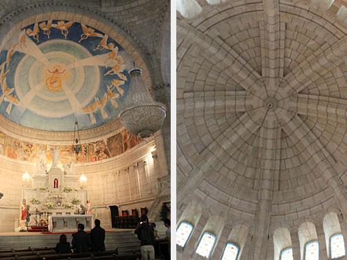 Wieder oben angekommen, werfen wir noch einen Blick auf Altar und Kuppel der Wallfahrtskirche Santa Luzia. (Foto: Sören Peters)