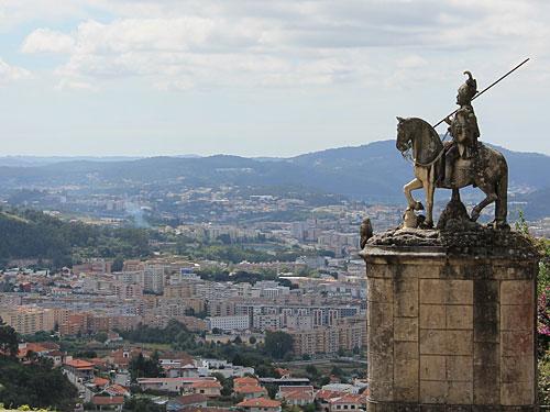 Reiterstandbild bei Bom Jesus do Monte vor der Stadt Braga. (Foto: Sören Peters)