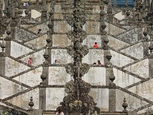 Barocke Treppe vor der Kirche von Bom Jesus do Monte. (Foto: Sören Peters)