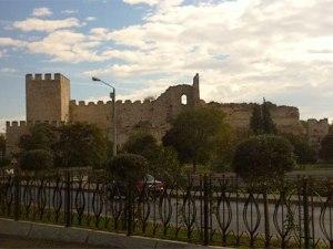 Teil der alten Stadtmauer. (Foto: Sören Peters)