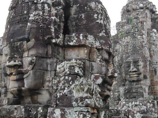 Markantestes Merkmal sind jedoch die in Stein gemeißelten Gesichter. (Foto: Sören Peters)