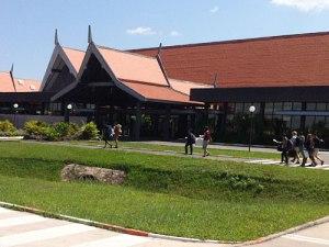 Der kleine Flughafen in Siem Reap ist neben Phnom Penh einer von zwei internationalen Airports in Kambodscha. (Foto: Sören Peters)