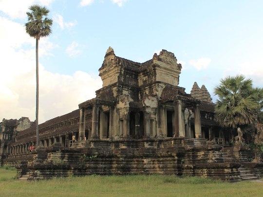 An jeder Ecke spürt man die Ehrwürdigkeit Angkors, allerdings auch... (Foto: Sören Peters)