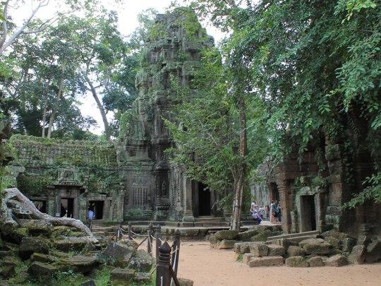 Das Zusammenspiel aus halb zerfallener Architektur und der Rückeroberung der Natur macht den Tempelkomplex zum Anziehungspunkt. (Foto: Sören Peters)