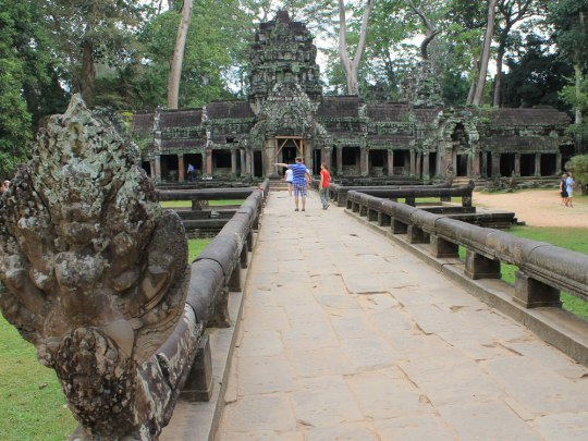 12. 640 Mönche sollen während der Hochzeit Angkors im 12. und 13. Jahrhundert hier gelebt haben. (Foto: Sören Peters)