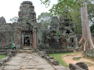 Ähnlich wie der Ta Prohm ist der Banteay Kdei nicht im besten Zustand. (Foto: Sören Peters)