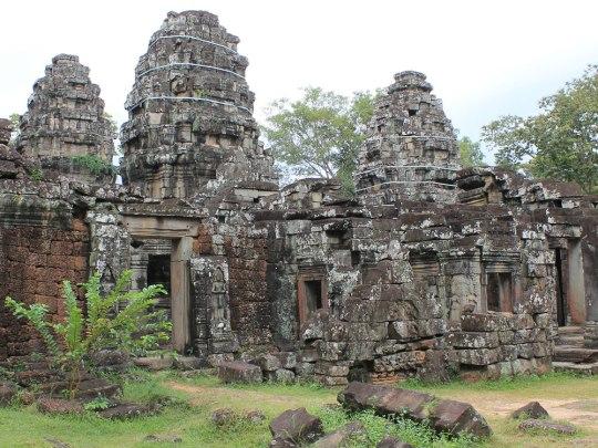 Außenansicht des Banteay Kdei - jetzt aber genug alte Steine angeschaut. (Foto: Sören Peters)