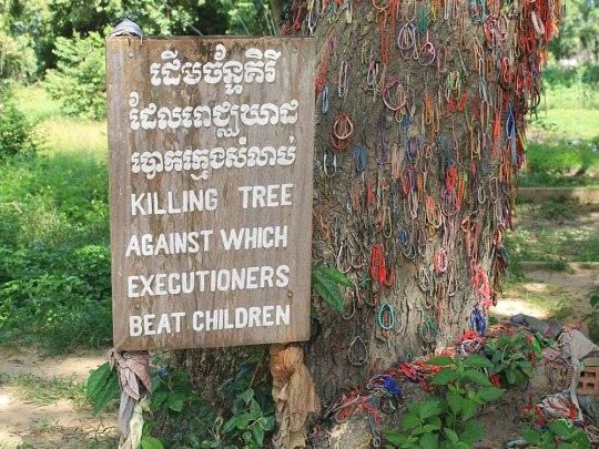 "Besonders berührend ist die Geschichte hinter dem ""Killing Tree"". (Foto: Sören Peters)"