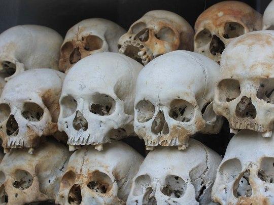 ...die sterblichen Überreste tausender Opfer aufbewahrt. (Foto: Sören Peters)