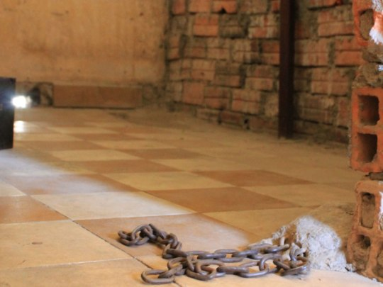 Nicht viel größer als zwei Quadratmeter waren die Zellen der Inhaftierten. (Foto: Sören Peters)