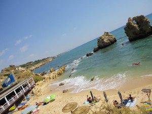 Praia dos Arrifes bei Albufeira. (Foto: Sören Peters)