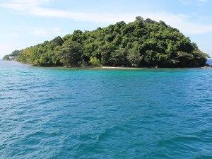 Insel vor Sihanoukville. (Foto: Sören Peters)