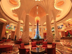Lobby im Atlantis The Palm. (Foto: Sören Peters)