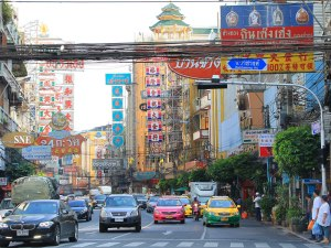 Bangkoks Chinatown. (Foto: Sören Peters)