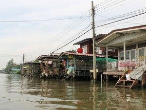 """Wasserstraßen auf Bangkoks """"Schäl Sick"""". (Foto: Sören Peters)"""