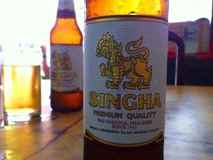 Chang oder Singha, das ist hier die Frage. Oder - wenn erhältlich - Tiger Beer. (Foto: Sören Peters)