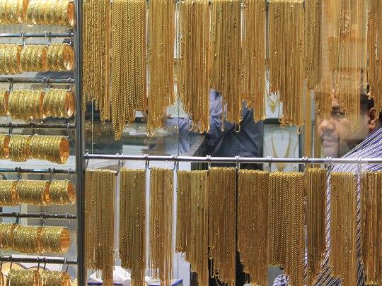 Händler im Goldsouq. (Foto: Sören Peters)