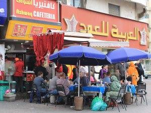 Straßenrestaurant. (Foto: Sören Peters)