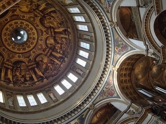 Kuppel in St. Paul's Cathedral. (Foto: Sören Peters)