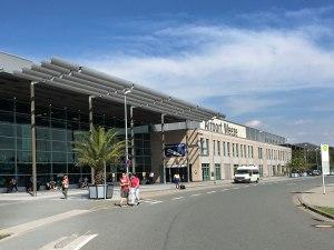 Die ehemalige Airbase Weeze, heute von der irischen Billigairline Ryanair genutzt. (Foto: Sören Peters)